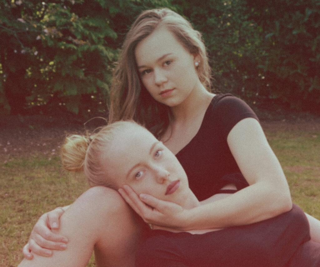 Fotograf Beckum Portrait Freundin BF Retro
