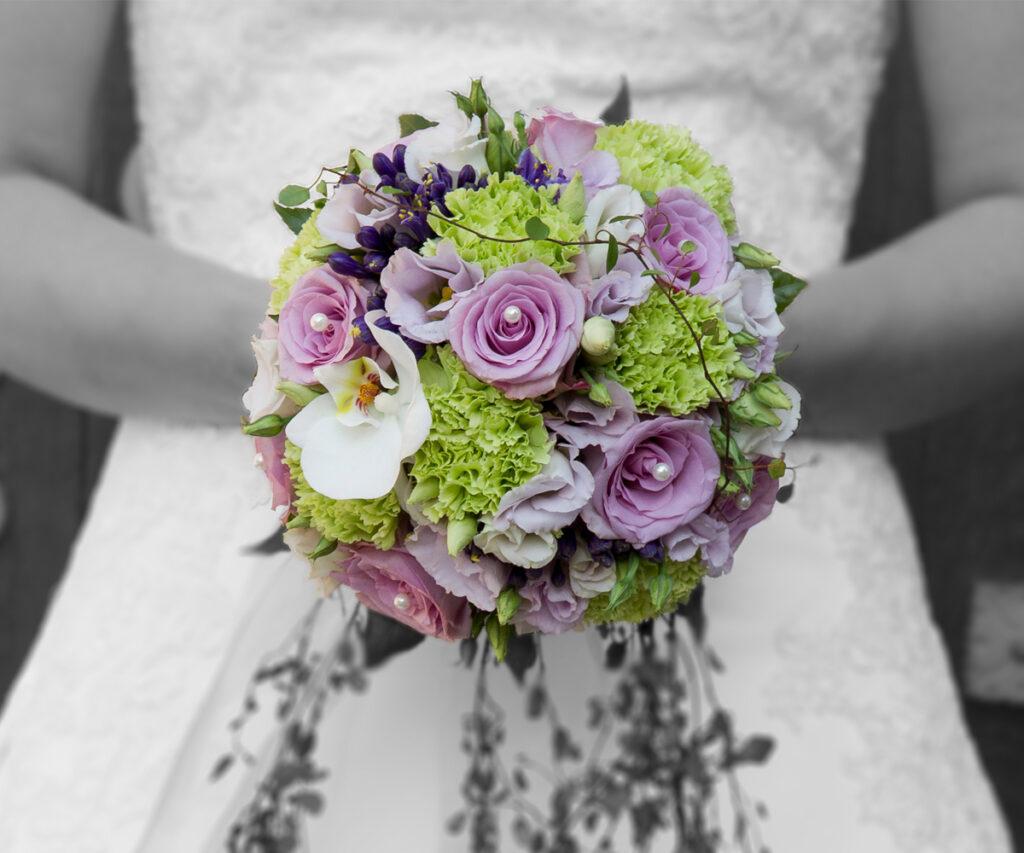 Fotograf Beckum Hochzeit Braut Brautstrauß